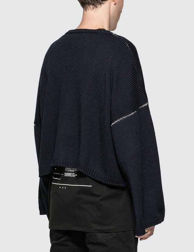 Raf Simons Cropped RS Sweater