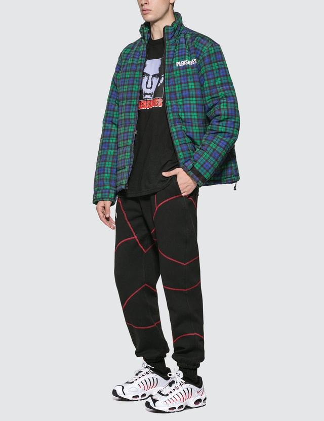 Pleasures Decades Plaid Puffer Jacket