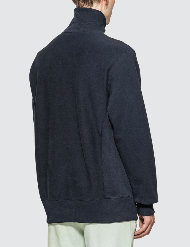 Champion Reverse Weave Small Script High Neck Sweatshirt