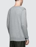 Maison Kitsune Virgin Wool R-Neck Pullover
