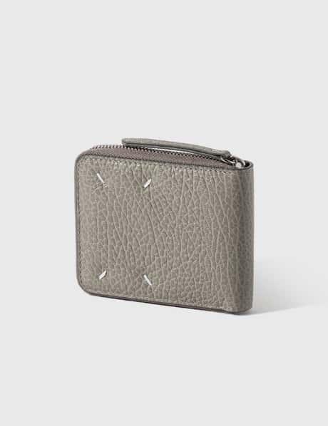 메종 마르지엘라 Maison Margiela Grain Leather Zip Wallet