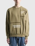 Thisisneverthat Cut & Sew Panel Crewneck Picutre