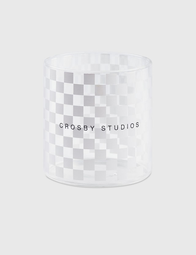 Crosby Studios Small Checkers Glass