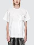 MM6 Maison Margiela Parachute Poplin Short Sleeve T-Shirt Picture