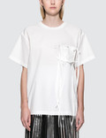 MM6 Maison Margiela Parachute Poplin Short Sleeve T-Shirt Picture
