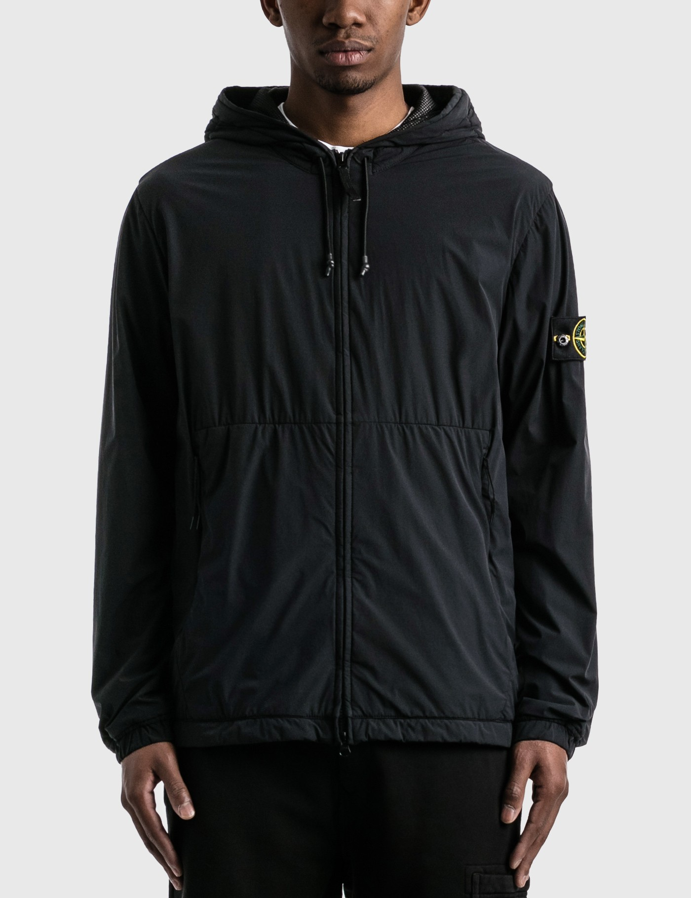 Drawstring Hooded Jacket