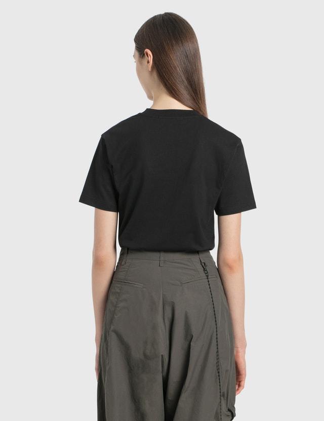 MSGM Small Logo T-Shirt Black Women