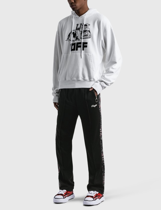 Off-White World Caterpillar Over Hoodie White Men