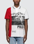 Polo Ralph Lauren Stadium Print Polo Shirt Picture