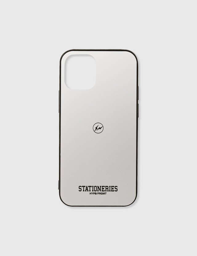 Stationeries by Hypebeast x Fragment HYPB/FRGMT iPhone Case 12 Mini Black Unisex