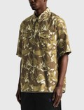 A.P.C. Joey Short Sleeve Shirt Camo Men