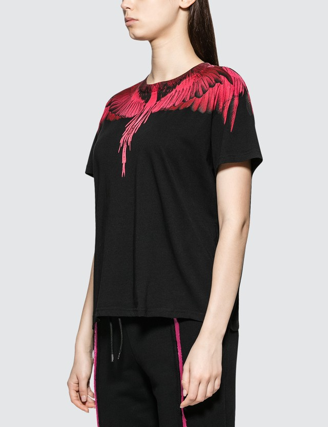 Marcelo Burlon Fucsia Wings T-shirt