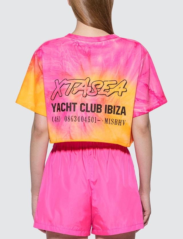 Misbhv Xtasea Spiral Tie Dye Cropped T-shirt