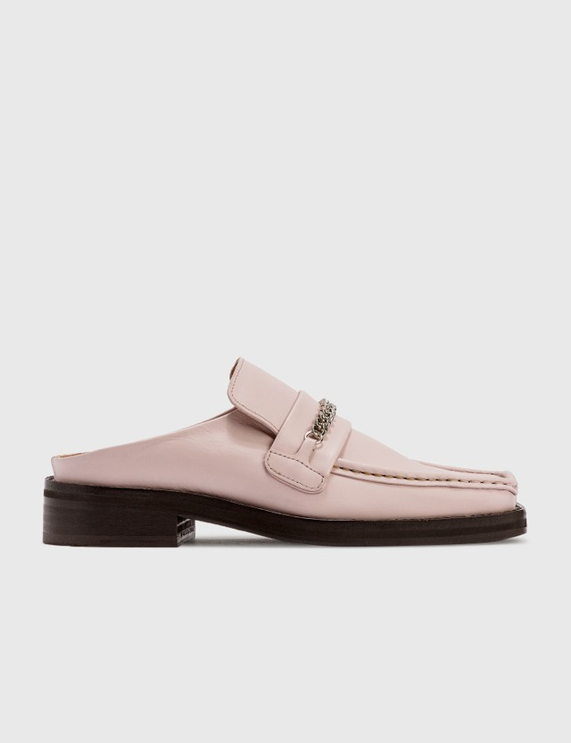Martine Rose Loafer Mule Pink Pink Women