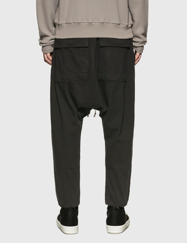 Rick Owens Drkshdw Lightweight Jersey Prisoner Drawstring Pants