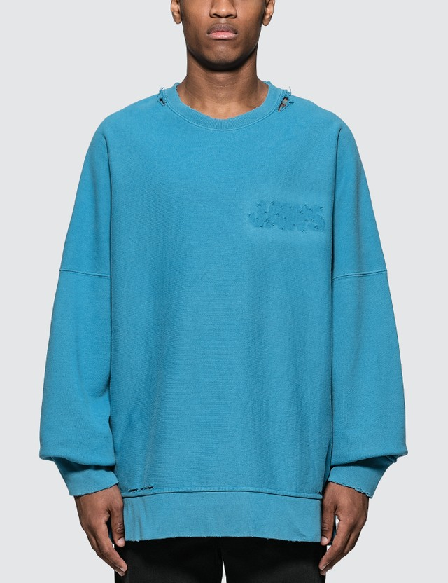 Calvin Klein 205W39NYC Cotton French Terry L/S T-Shirt