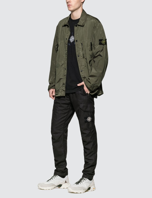 Stone Island Button Up Over Shirt