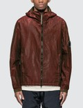 CP Company P.RI.S.M Garment Dyed Zip Arm Lens Jacket Picture