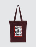 Have A Good Time Frame Tote Picture