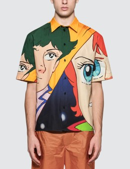 MSGM Anime Print S/S Shirt