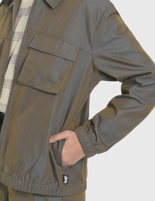 Stussy Iridescent Multi Pocket Jacket