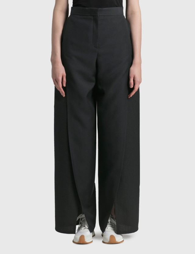 Loewe Front Vent Trousers Black Women