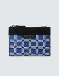 Maison Kitsune All-Over Rectangle Small Pouch Picutre