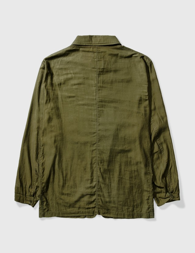 Needles Needles X Portable Garments Shirt Jacket Green Archives