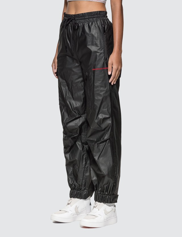 Alexander Wang Chynatown Pleather Nylon Track Pants