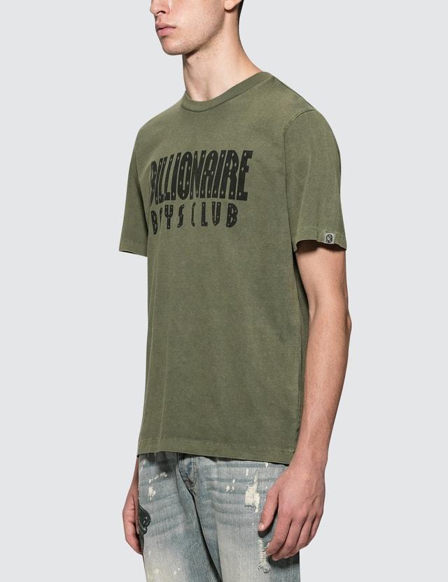 Billionaire Boys Club Overdyed Straight Logo S/S T-Shirt