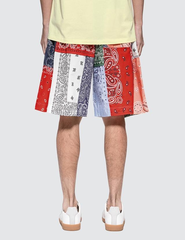 Loewe Bandana Patchwork Shorts