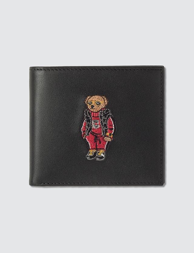 Polo Ralph Lauren Embroidered Polo Bear Billfold Wallet