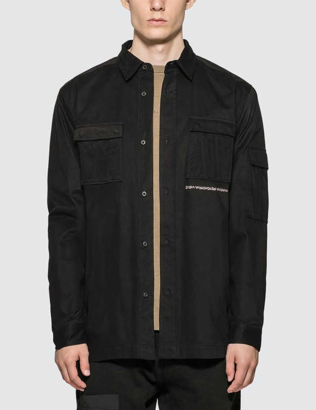Maharishi Life-death Military Shirt