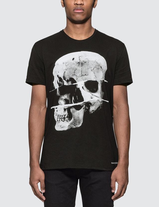 Alexander McQueen Dissected Skull Print T-Shirt