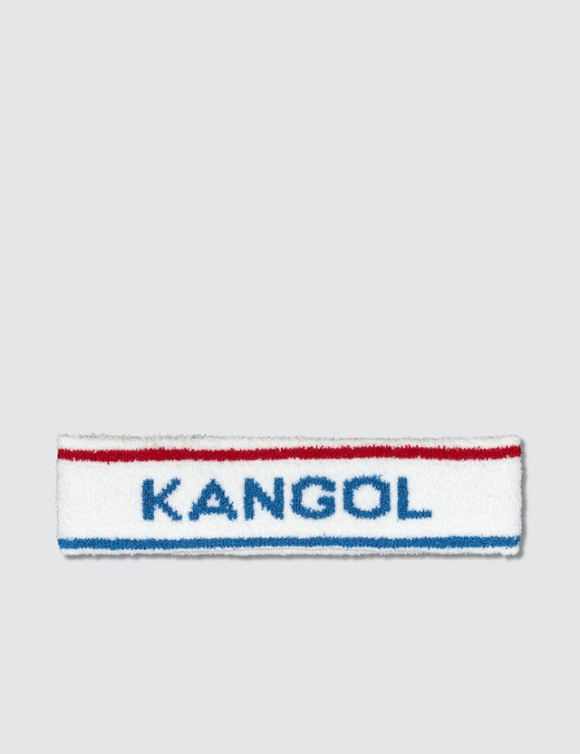 Kangol Bermuda Stripe Headband White/ciano Women
