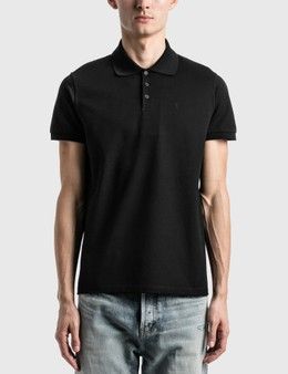 Saint Laurent Monogram Polo Shirt