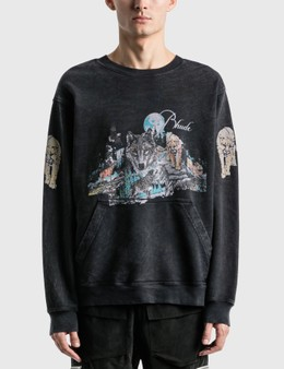 Rhude Wolf Graphic Sweatshirt