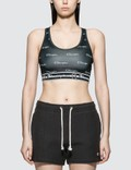 Champion Reverse Weave Allover Logo Sport Bra Picture