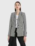 Off-White Houndstooth Circle Fit Jacket Picutre
