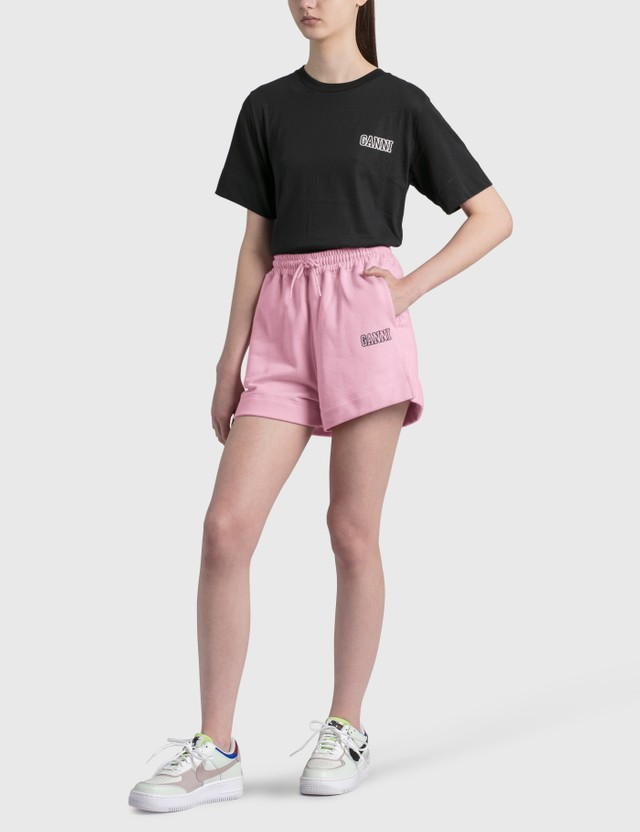 Ganni Software Isoli Shorts Sweet Lilac Women