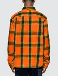 Stussy Ace Plaid Long Sleeve Shirt