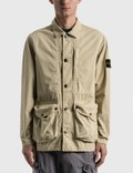 Stone Island Brushed Cotton Canvas Jacket Picture