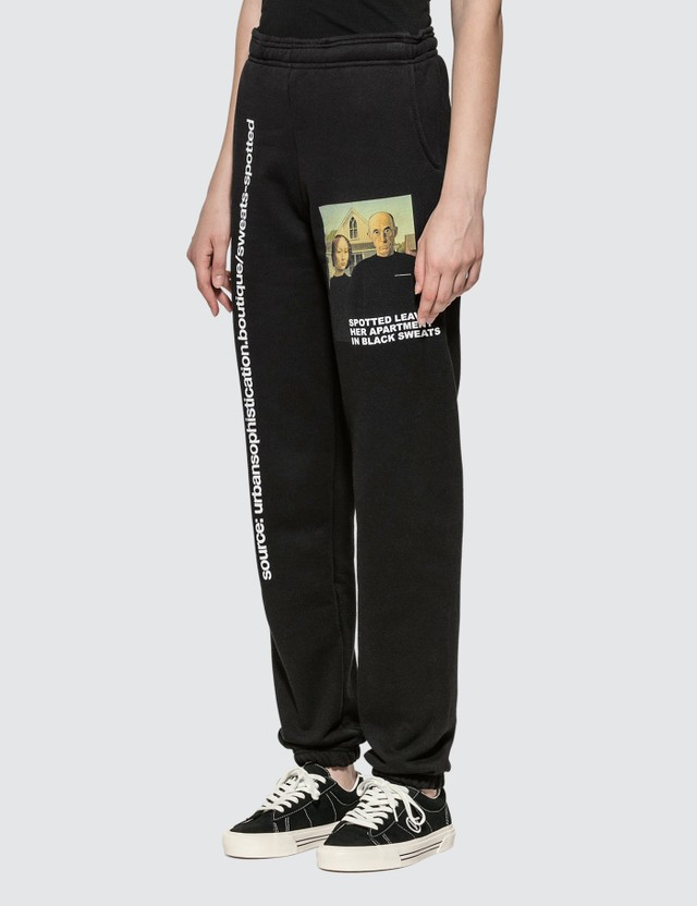 Urban Sophistication Spotted Sweatpants