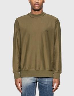 Ader Error Lightweight Cotton Jersey Sweatshirt