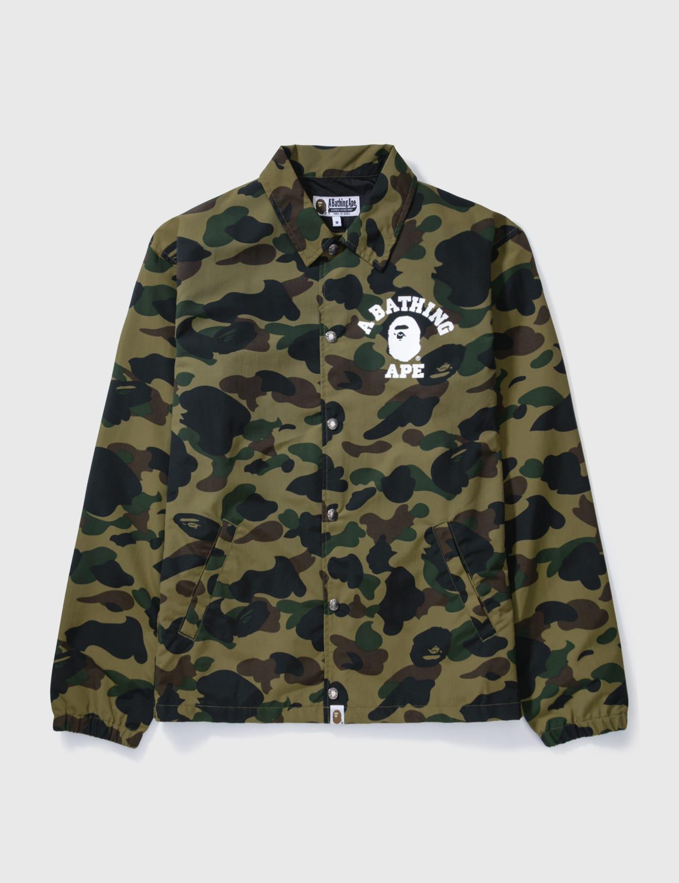 BAPE Camouflaged Nylon Jacket