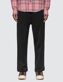 Acne Studios Technical Logo Zip Sweatpants