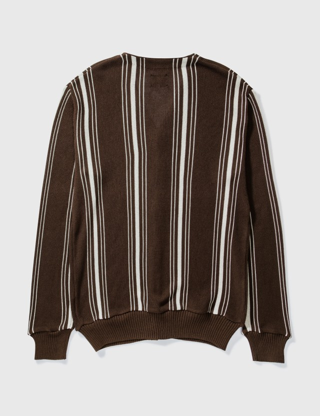 Needles Needles Cotton Polyester Cardigan Brown Archives