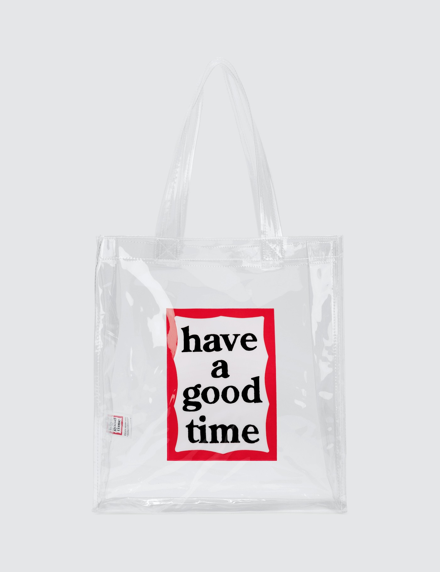PVC Clear Tote Bag