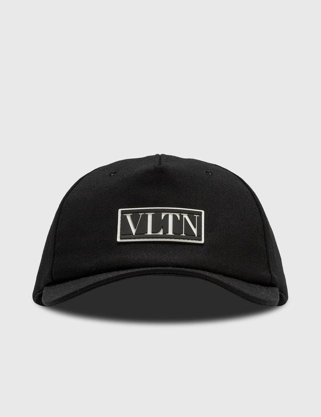 Valentino Valentino Garavani VLTN Cotton Baseball Cap