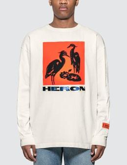 Heron Preston Herons Tape Long Sleeve T-Shirt